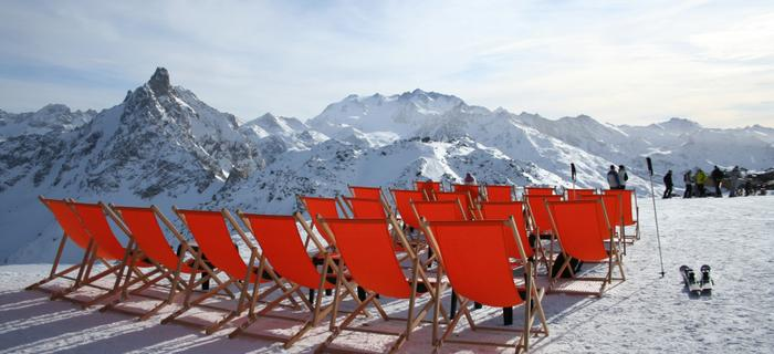 Courchevel w Alpach Francuskich