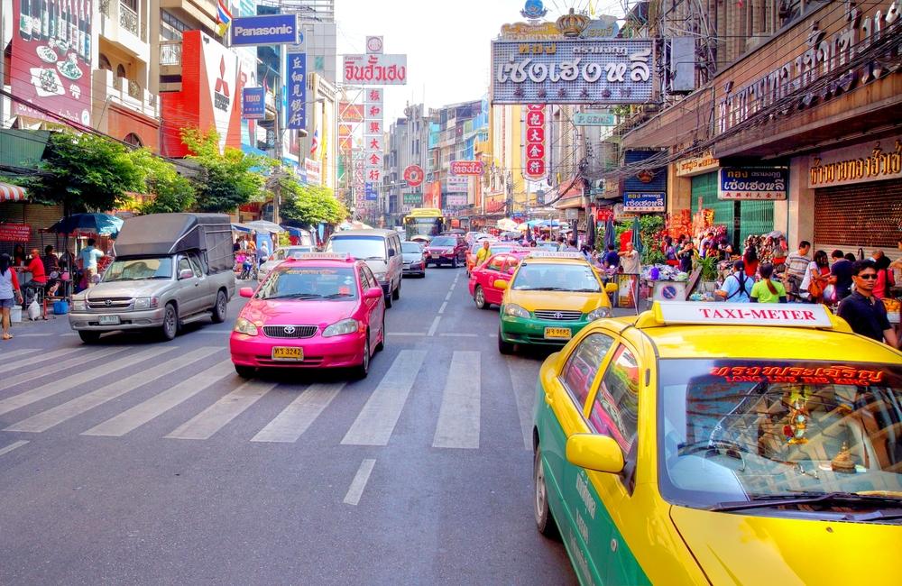 Bangkok - ruch uliczny