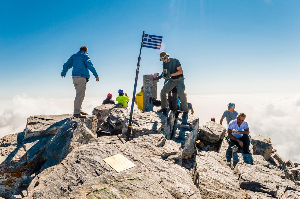 Mitikas - najwyższy szczyt Grecji